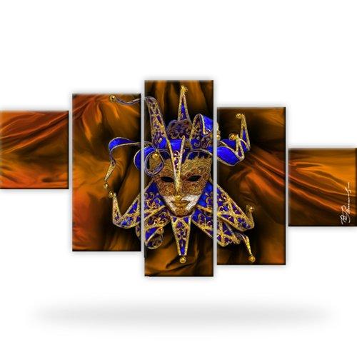 joker bild auf leinwand abstrakt xxl 175x100 cm ebay. Black Bedroom Furniture Sets. Home Design Ideas